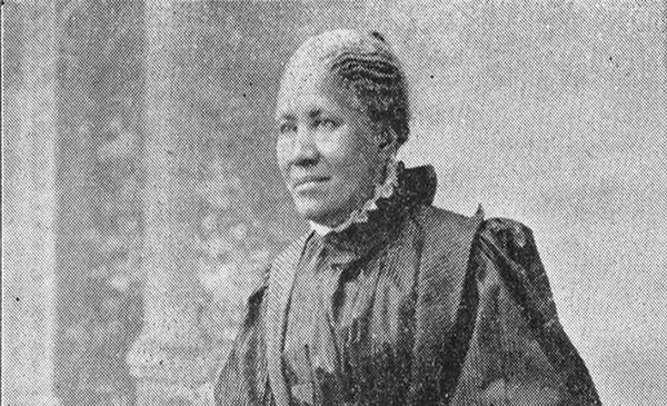 black and white portrait of a woman