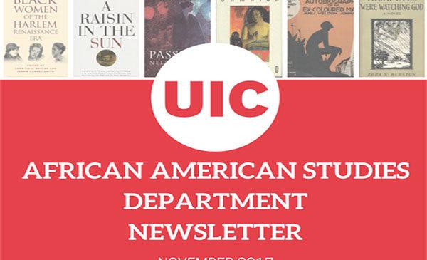 African American Studies Department Newsletter