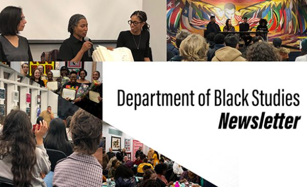 black studies department newsletter