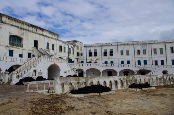 a photo of the cape coast castle in Ghana